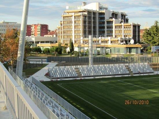 Stadion Bonifika bodo minimalno prenovili
